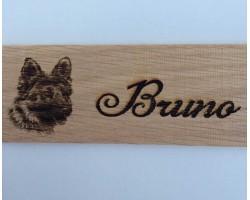 Personalised German Shepherd Name Plate - Plaque