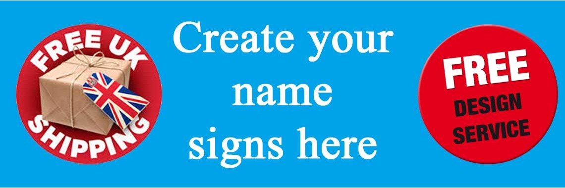 Create your Name Sign