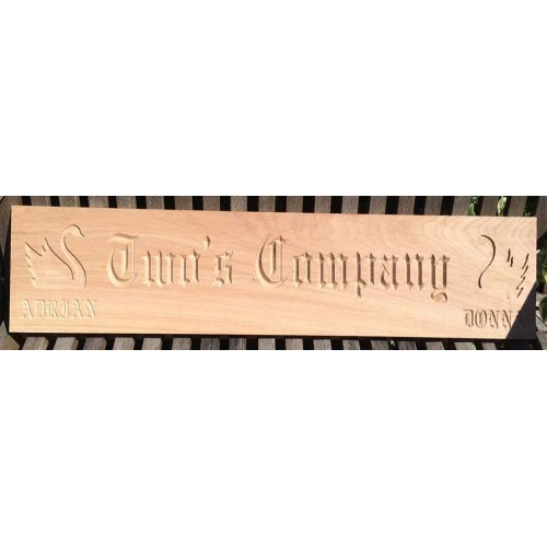 Engraved Boat Name Signs