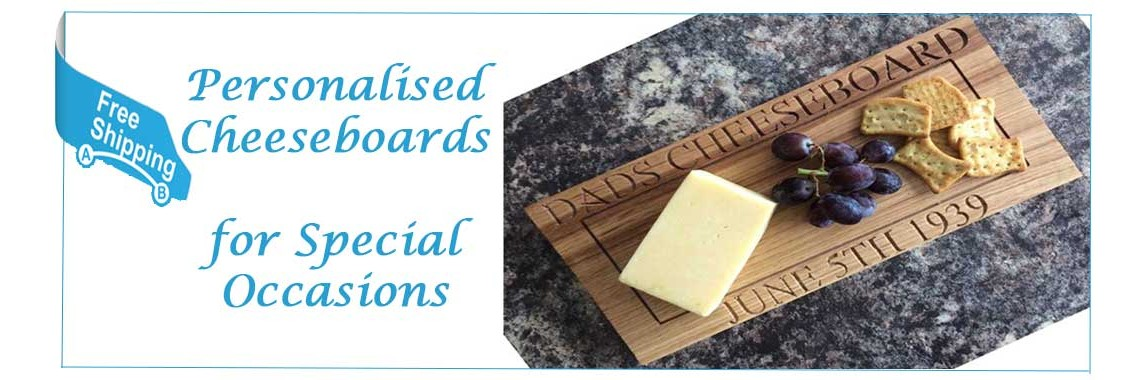 Personalised Oak Cheeseboards for Special Occasions