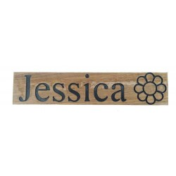 Oak Name Signs for Jessica