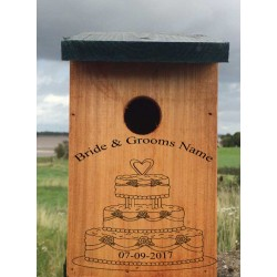 Wedding Gift A Personalised Bird Box