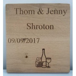 Personalised Oak Cheeseboards