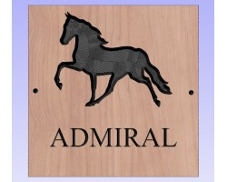 Bespoke Wooden Horse Signs