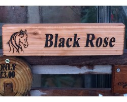 Custom Stable Door Horse Signs  made to order